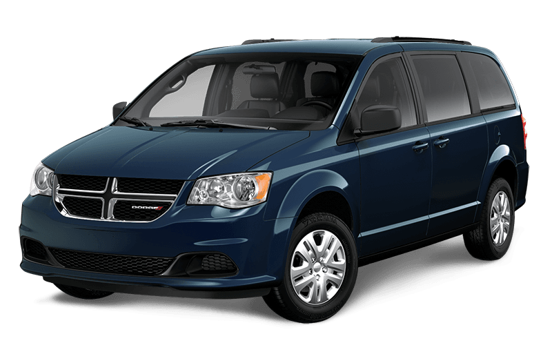 2020 Dodge Grand Caravan SXT - Indigo Blue Pearl