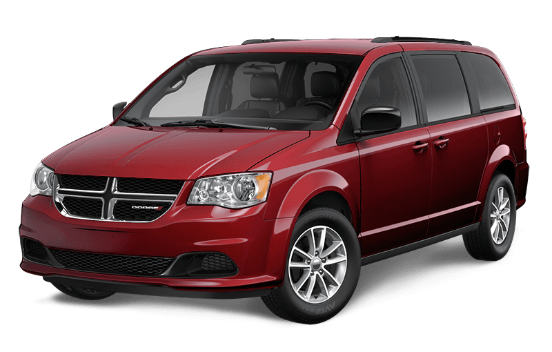 2020 Dodge Grand Caravan SXT Plus - Octane Red