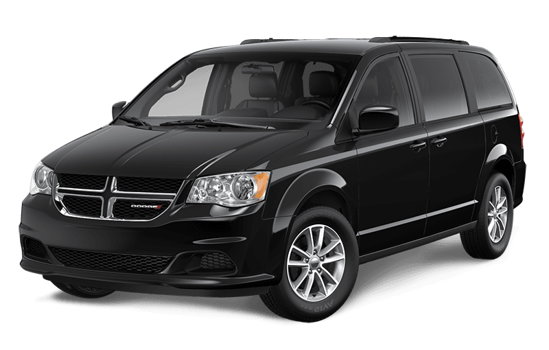 2020 Dodge Grand Caravan SXT Plus - Brilliant Black Crystal Pearl