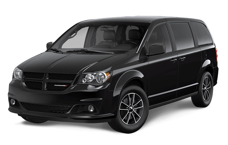 2020 Dodge Grand Caravan SXT - Brilliant Black Crystal Pearl