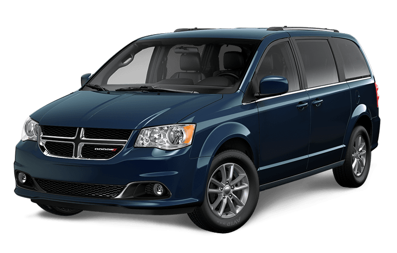 2020 Dodge Grand Caravan Premium Plus - Indigo Blue Pearl