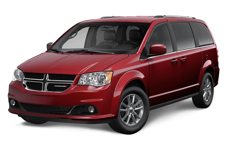 2020 Dodge Grand Caravan Premium Plus - Octane Red