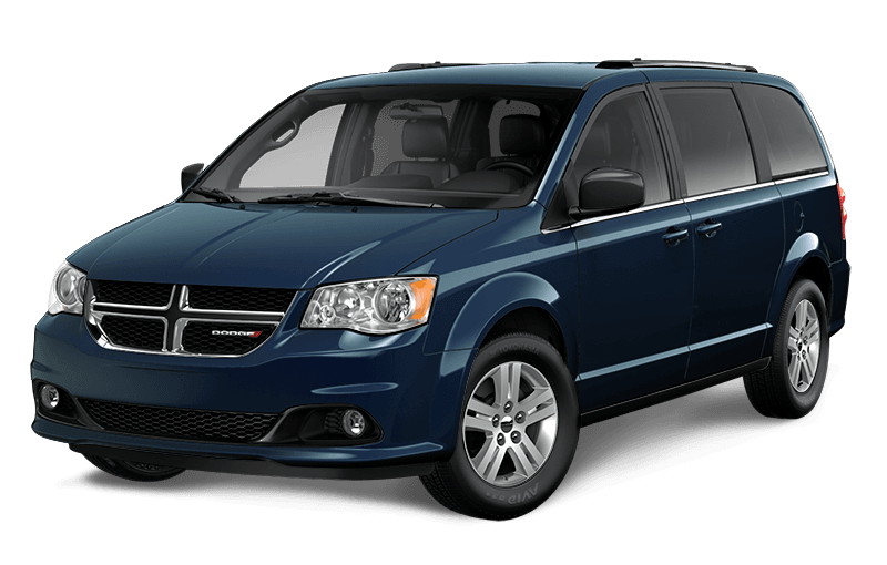 2020 Dodge Grand Caravan Crew - Indigo Blue Pearl