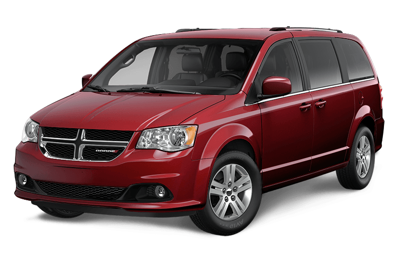 2020 Dodge Grand Caravan Crew - Octane Red