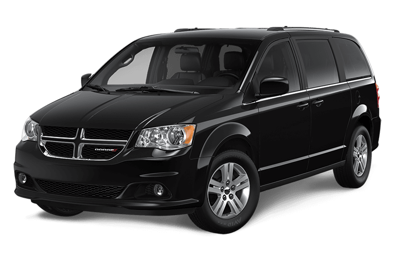 2020 Dodge Grand Caravan Crew - Brilliant Black Crystal Pearl
