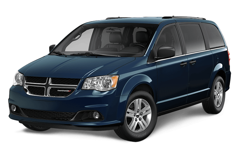 2020 Dodge Grand Caravan Crew Plus - Indigo Blue Pearl