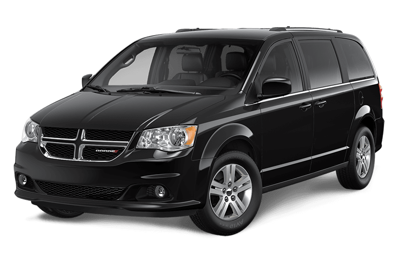 2020 Dodge Grand Caravan Crew Plus - Brilliant Black Crystal Pearl