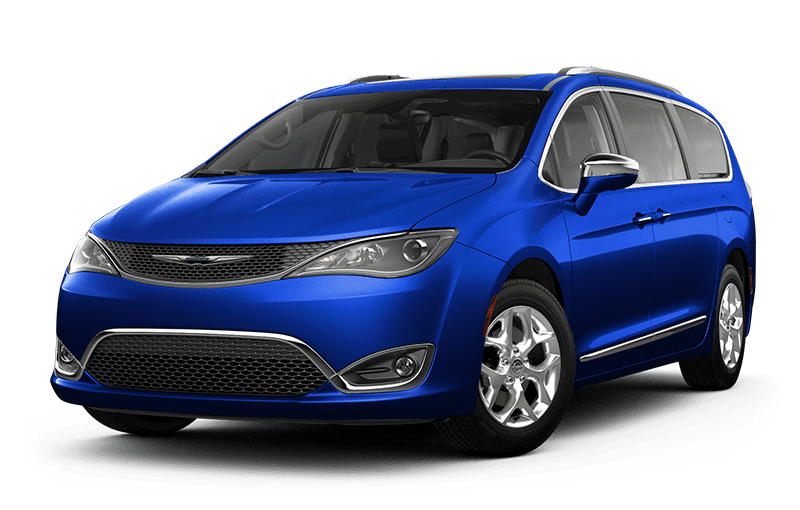 2020 Chrysler Pacifica Limited - Ocean Blue Metallic