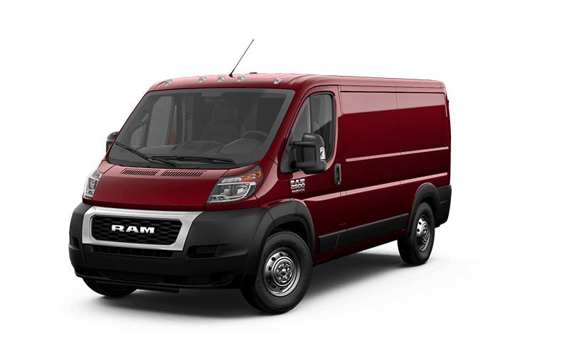 2020 Ram ProMaster® 2500 - Deep Cherry Red Crystal Pearl