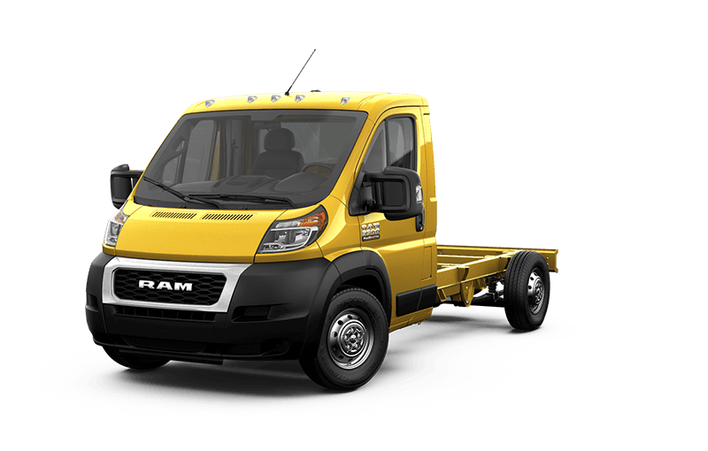 2020 Ram ProMaster® 3500 Chassis Cab - Broom Yellow