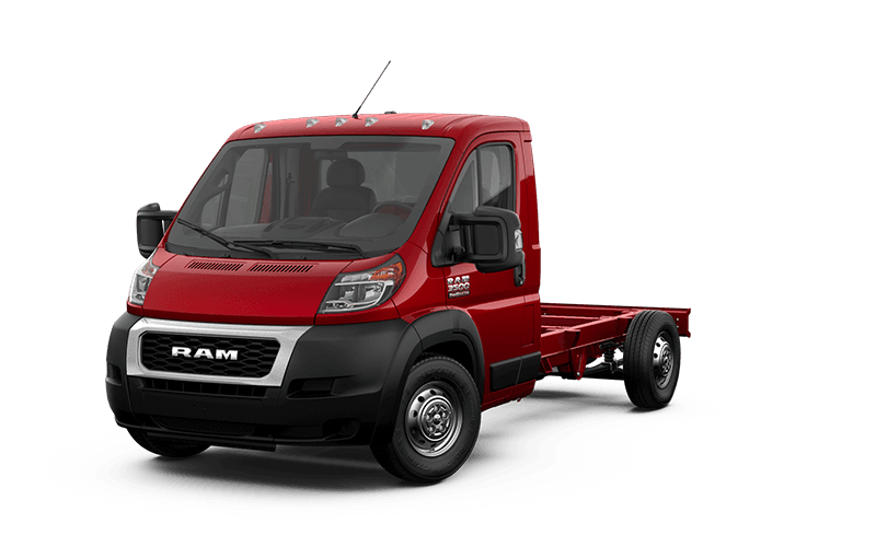 2020 Ram ProMaster® 3500 Chassis Cab - Flame Red