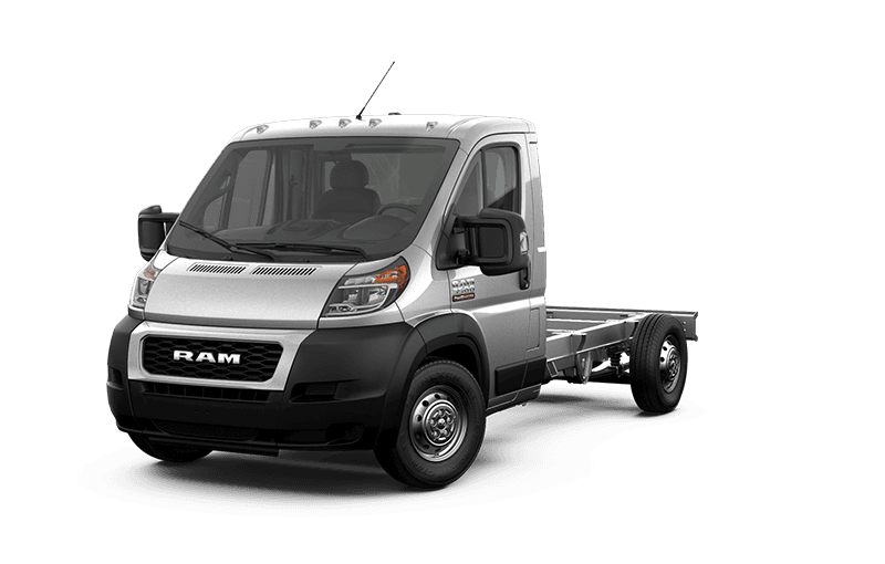 2020 Ram ProMaster® 3500 Chassis Cab - Bright Silver Metallic