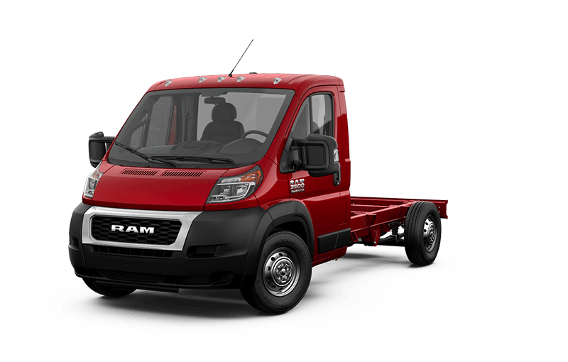 2020 Ram ProMaster® 3500 Cutaway - Flame Red
