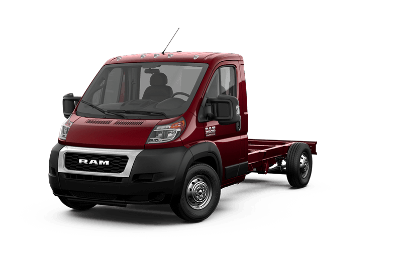 2020 Ram ProMaster® 3500 Cutaway - Deep Cherry Red Crystal Pearl