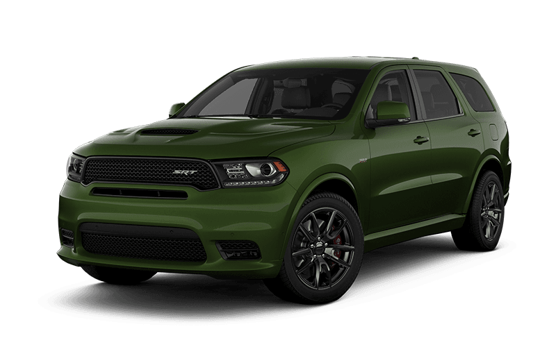 2020 Dodge Durango SRT - F8 Green Metallic