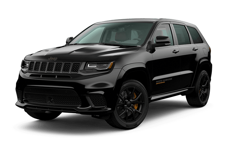 2020 Jeep® Grand Cherokee TrackhawkTM - Diamond Black Crystal Pearl