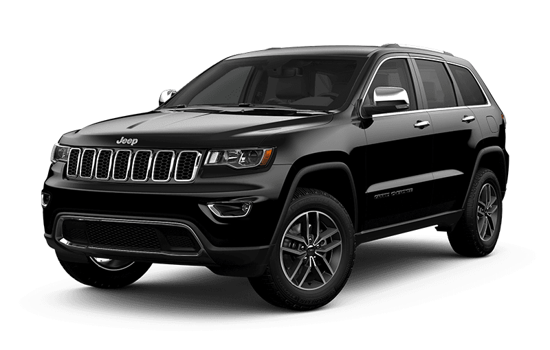 2020 Jeep® Grand Cherokee Limited - Diamond Black Crystal Pearl
