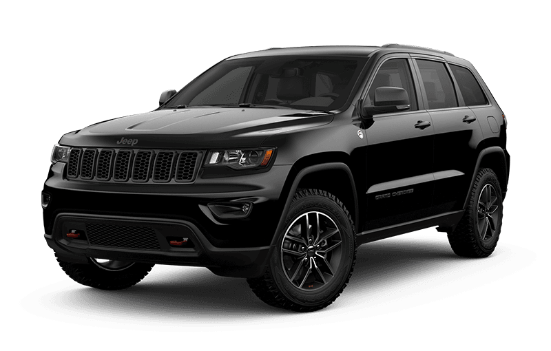 2020 Jeep® Grand Cherokee Trailhawk® - Diamond Black Crystal Pearl