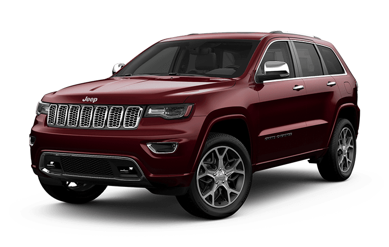 2020 Jeep® Grand Cherokee Overland® - Velvet Red Pearl