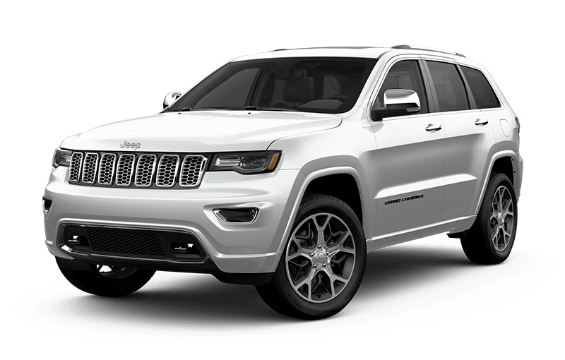 2020 Jeep® Grand Cherokee Overland® - Bright White