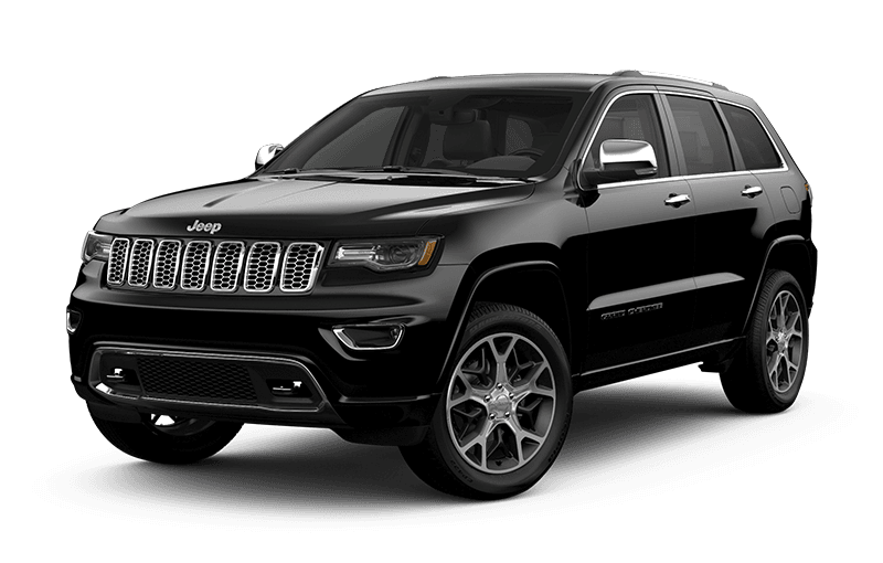 2020 Jeep® Grand Cherokee Overland® - Diamond Black Crystal Pearl