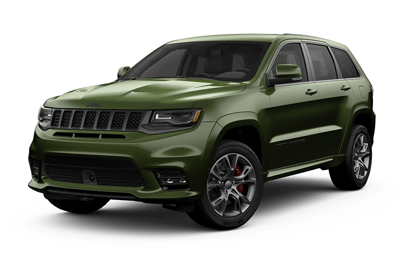 2020 Jeep® Grand Cherokee SRT® - Green Metallic