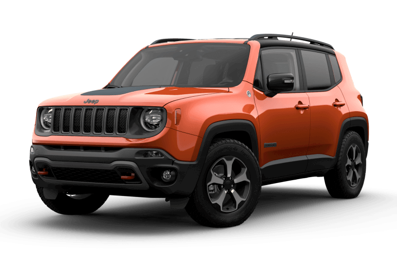 2021 Jeep® Renegade Trailhawk® - Omaha Orange
