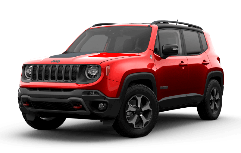 2021 Jeep® Renegade Trailhawk® - Colorado Red