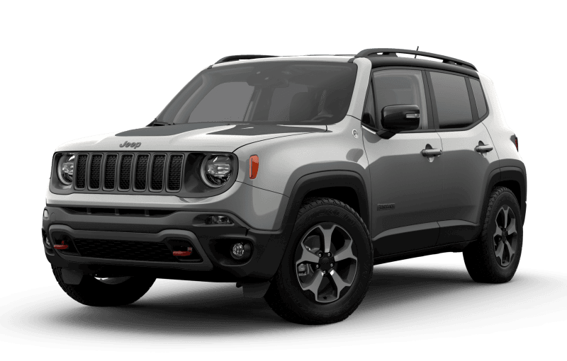 2021 Jeep® Renegade Trailhawk® - Glacier Metallic