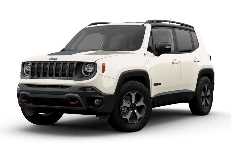 2021 Jeep® Renegade Trailhawk® - Alpine White