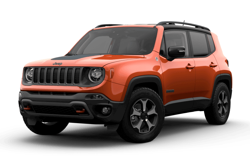 2021 Jeep® Renegade Trailhawk Elite - Omaha Orange