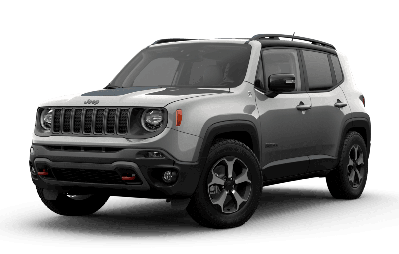 2021 Jeep® Renegade Trailhawk Elite - Glacier Metallic