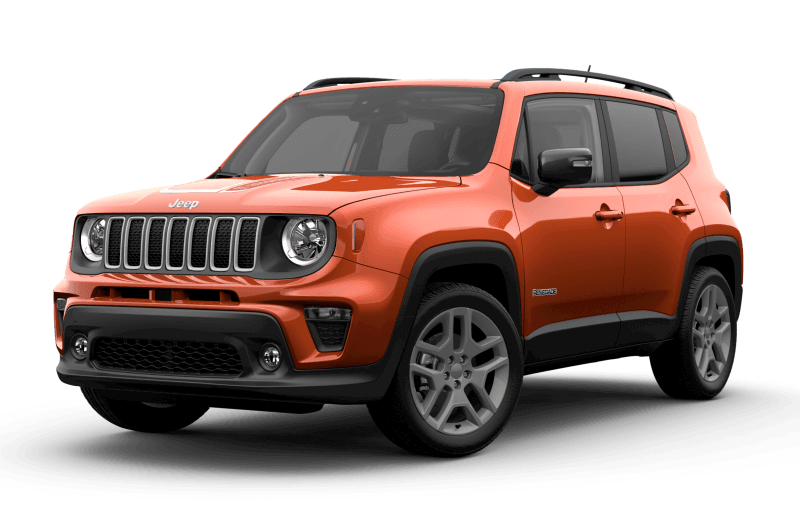 2021 Jeep® Renegade Islander - Omaha Orange