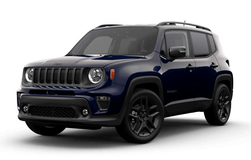 2021 Jeep® Renegade 80th Anniversary Edition - Jetset Blue