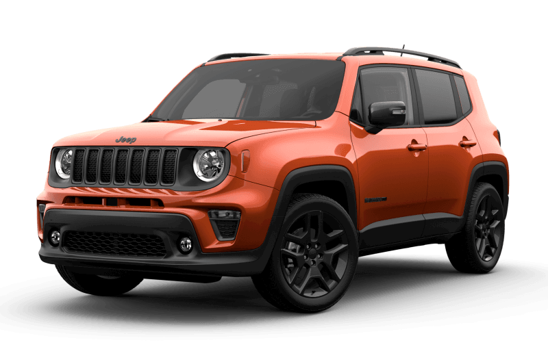 2021 Jeep® Renegade 80th Anniversary Edition - Omaha Orange