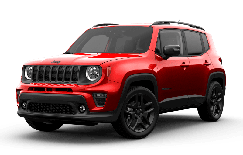 2021 Jeep® Renegade 80th Anniversary Edition - Colorado Red