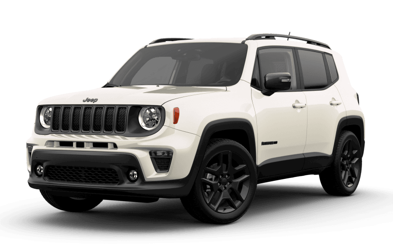 2021 Jeep® Renegade 80th Anniversary Edition - Alpine White