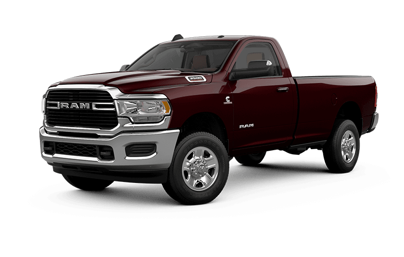 2021 Ram 3500 Big Horn - Red Pearl
