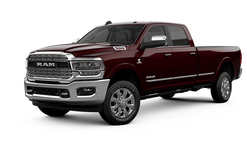 2021 Ram 3500 Limited - Red Pearl