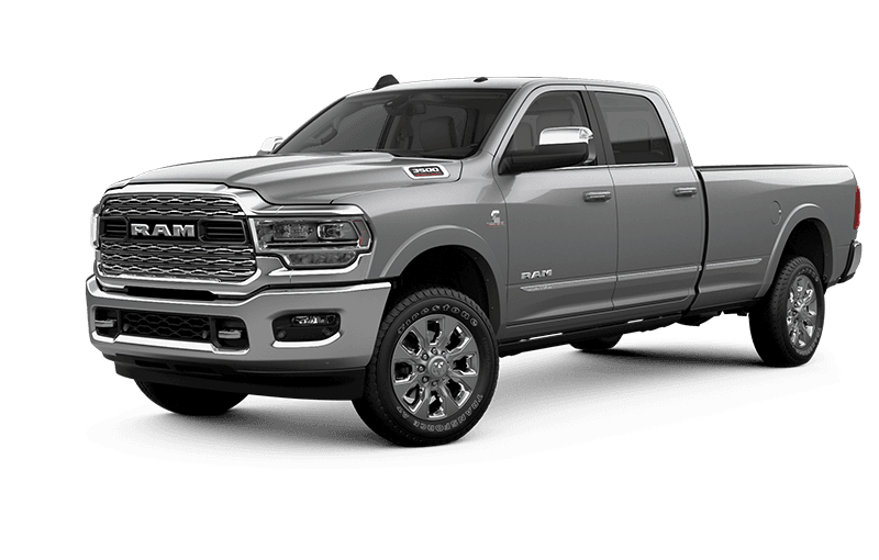2021 Ram 3500 Limited - Bright Silver Metallic