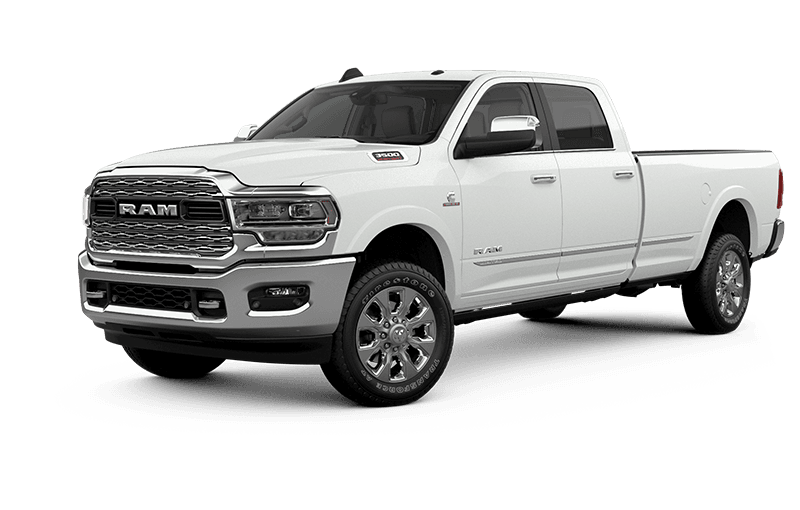 2021 Ram 3500 Limited - Bright White