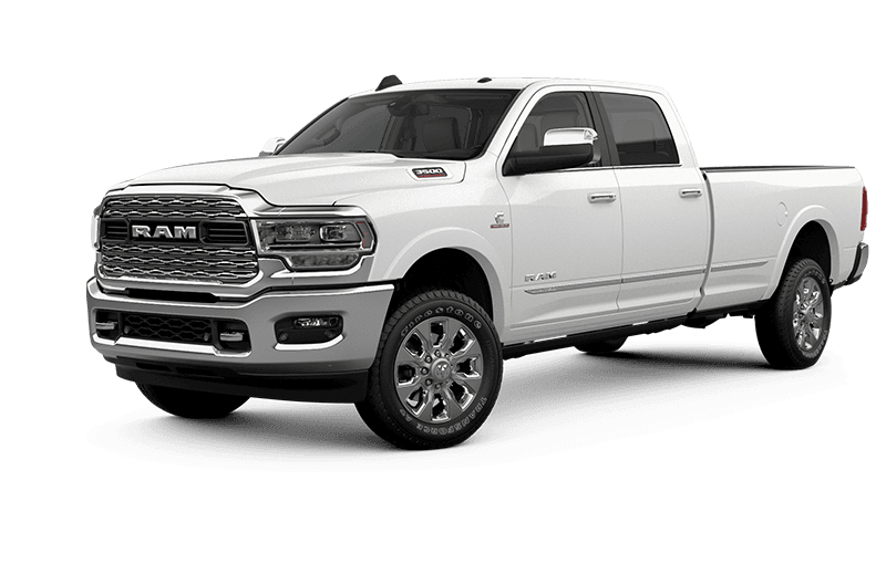 2021 Ram 3500 Limited - Pearl White