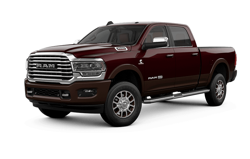 2021 Ram 3500 Limited Longhorn - Red Pearl