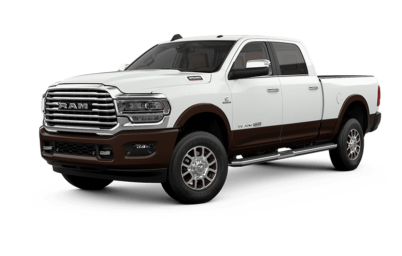 2021 Ram 3500 Limited Longhorn - Bright White