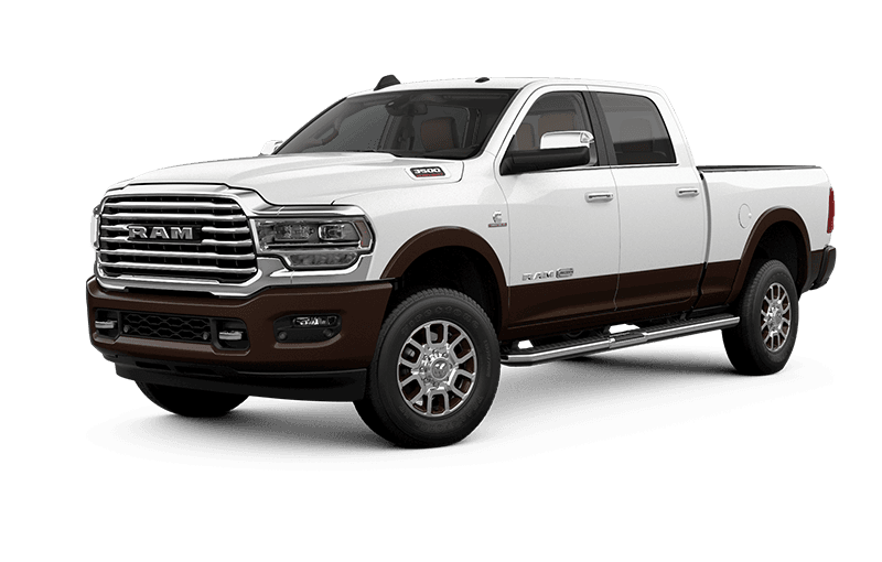 2021 Ram 3500 Limited Longhorn - Pearl White