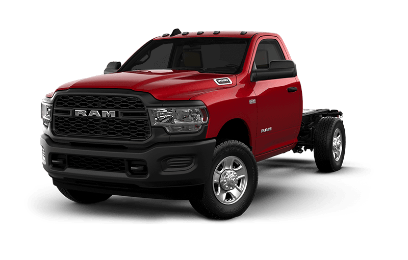 2021 Ram Chassis Cab 3500 Tradesman - Flame Red