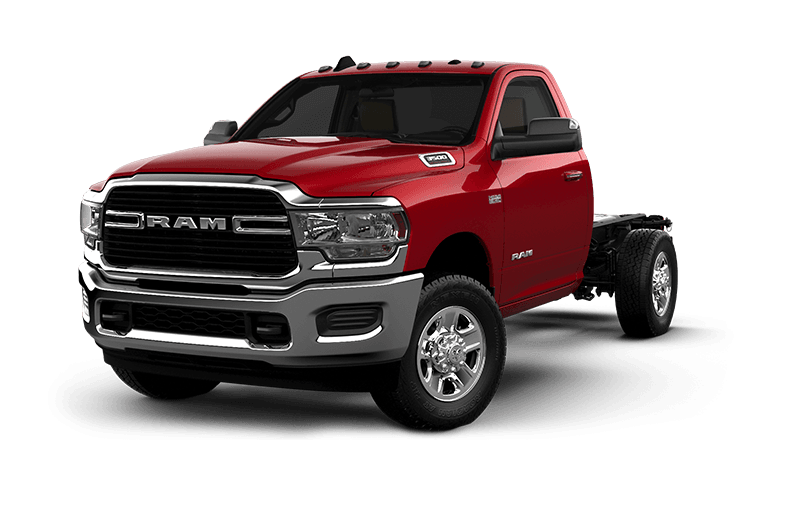 2021 Ram Chassis Cab 3500 SLT - Flame Red