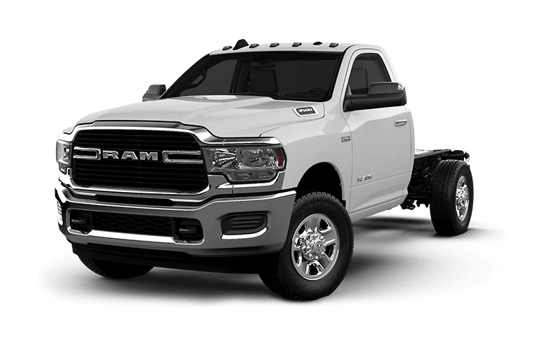 2021 Ram Chassis Cab 3500 SLT - Bright White