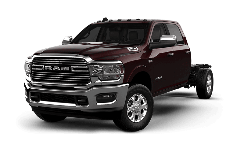 2021 Ram Chassis Cab 3500 Laramie - Red Pearl