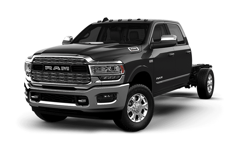 2021 Ram Chassis Cab 3500 Limited - Granite Crystal Metallic